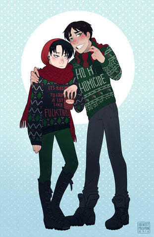 "Ereri: Holiday 11X17"" Print"