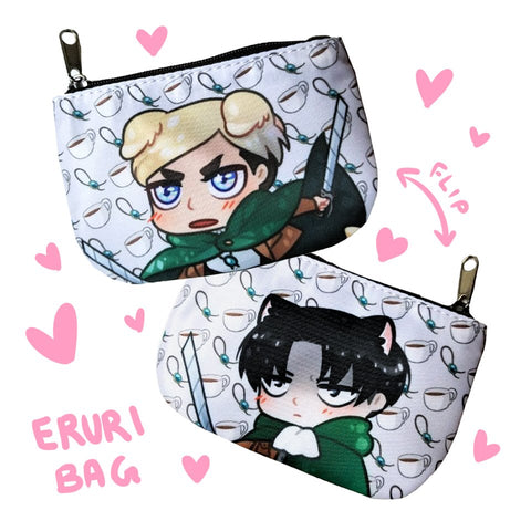 Eruri Mini Zip Bag