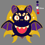 Bizarre Bat Hard Enamel Pin