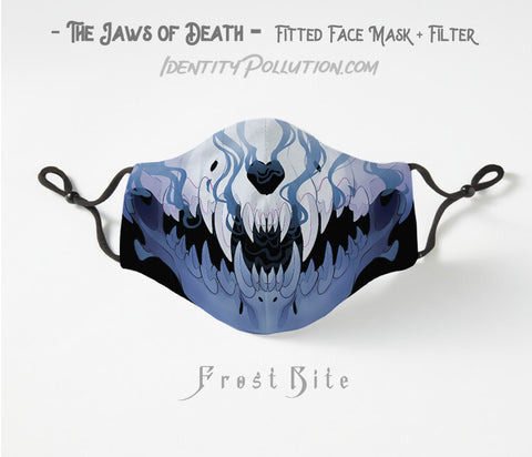 Frost Bite -Jaws of Death- Adjustable Mask with Filter PRE-ORDER⏰