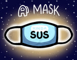 Kinda SUS Mask with Filter Pre-Order