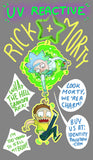 Rick and Morty Linking UV Charms