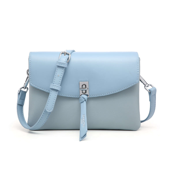 CROSS BODY BAG WITH TIE DETAIL