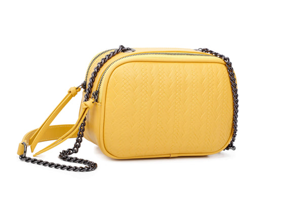 CROSSBODY BAG WITH TWO INNER COMPARTMENTS - VIAVOLTURNO