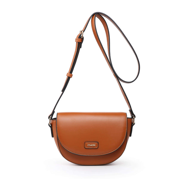 CURVED CROSS BODY BAG