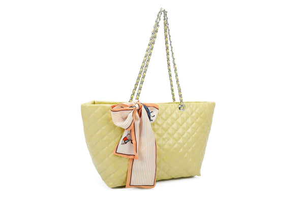 QUILTED SHOPPER BAG - VIAVOLTURNO