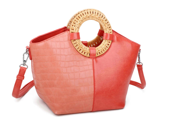 RING HANDBAG WITH SHOULDER STRAP - VIAVOLTURNO