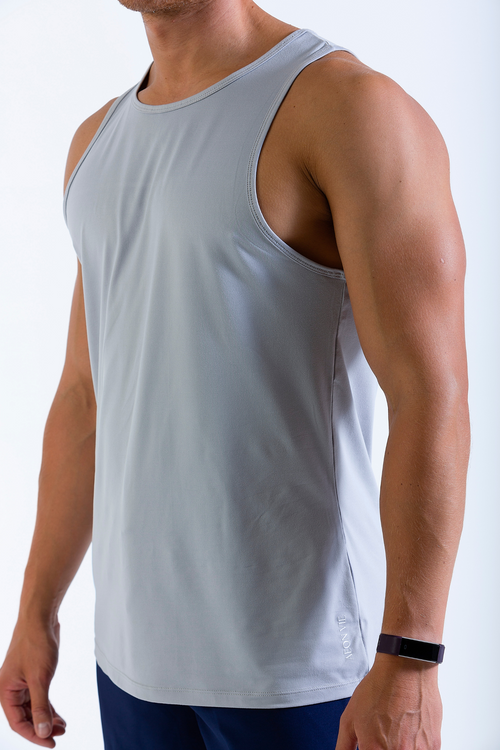 Mens Lumiere Vest tank top in grey