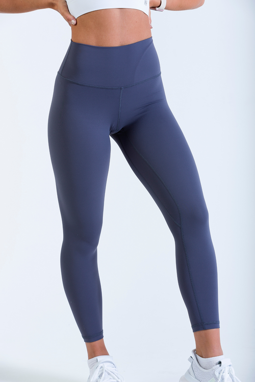 Women's gym leggings Aurora Luxe Legging in Lilac Grey