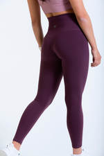 Women's Iono high waist leggings in Mogao Red