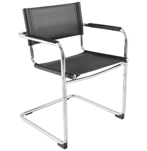 Welcome Chair comes in black and white with a modern style and is available from roomshaped.co.uk