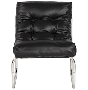 Boudoir Armchair comes in black and brown and red and white with a modern style and is available from roomshaped.co.uk