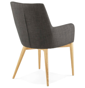 Gagu Armchair has a modern style and is available from roomshaped.co.uk