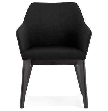 Takion Armchair comes in black with a modern style and is available from roomshaped.co.uk