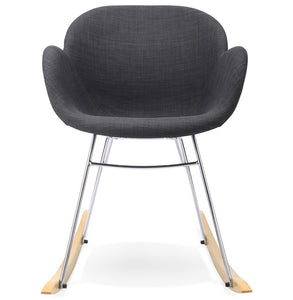Toggle Armchair comes in grey with a modern style and is available from roomshaped.co.uk