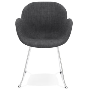 Texina Armchair comes in grey with a modern style and is available from roomshaped.co.uk