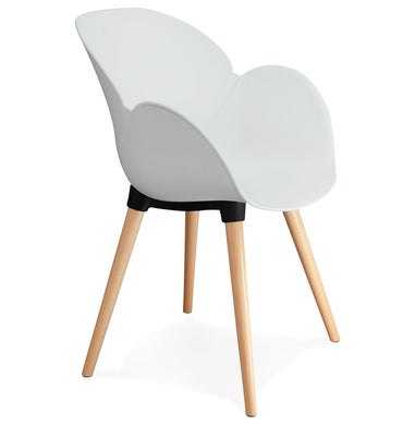 Sitwel Armchair has a modern style and is available from roomshaped.co.uk