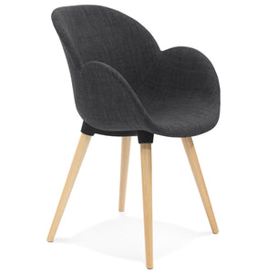 Sagu Armchair comes in grey with a modern style and is available from roomshaped.co.uk