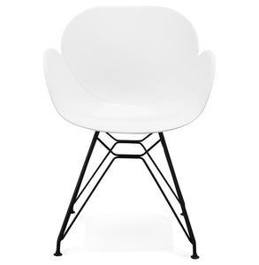 Umela Armchair comes in black and grey and white with a modern style and is available from roomshaped.co.uk