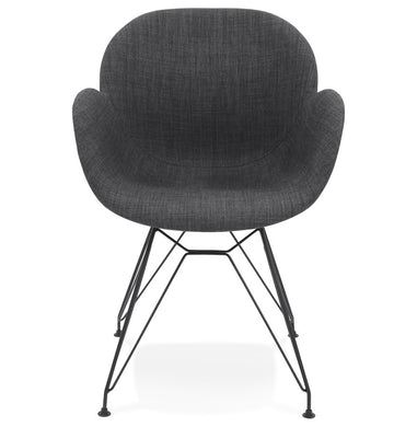 Equium Armchair comes in black and grey with a modern style and is available from roomshaped.co.uk