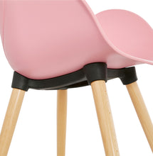 Load image into Gallery viewer, Sitwel Armchair comes in black and blue and grey and pink and white with a modern style and is available from roomshaped.co.uk