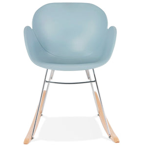 Knebel Armchair comes in black and blue and grey and pink and white with a modern style and is available from roomshaped.co.uk