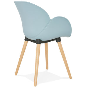 Sitwel Armchair comes in black and blue and grey and pink and white with a modern style and is available from roomshaped.co.uk