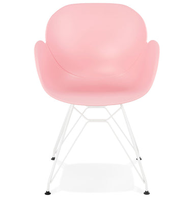 Provoc Armchair comes in black and blue and grey and pink and white with a modern style and is available from roomshaped.co.uk
