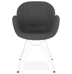 Lider Armchair has a modern style and is available from roomshaped.co.uk