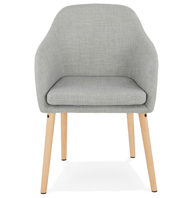 Miuk Armchair comes in grey with a modern style and is available from roomshaped.co.uk