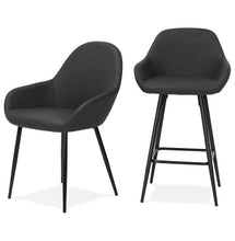 Load image into Gallery viewer, Gra Armchair has a modern style and is available from roomshaped.co.uk