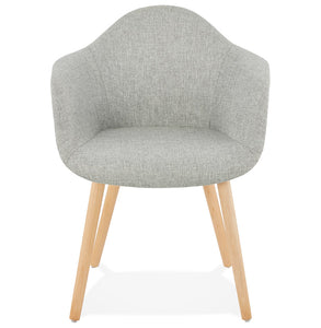 Loko Armchair has a modern style and is available from roomshaped.co.uk