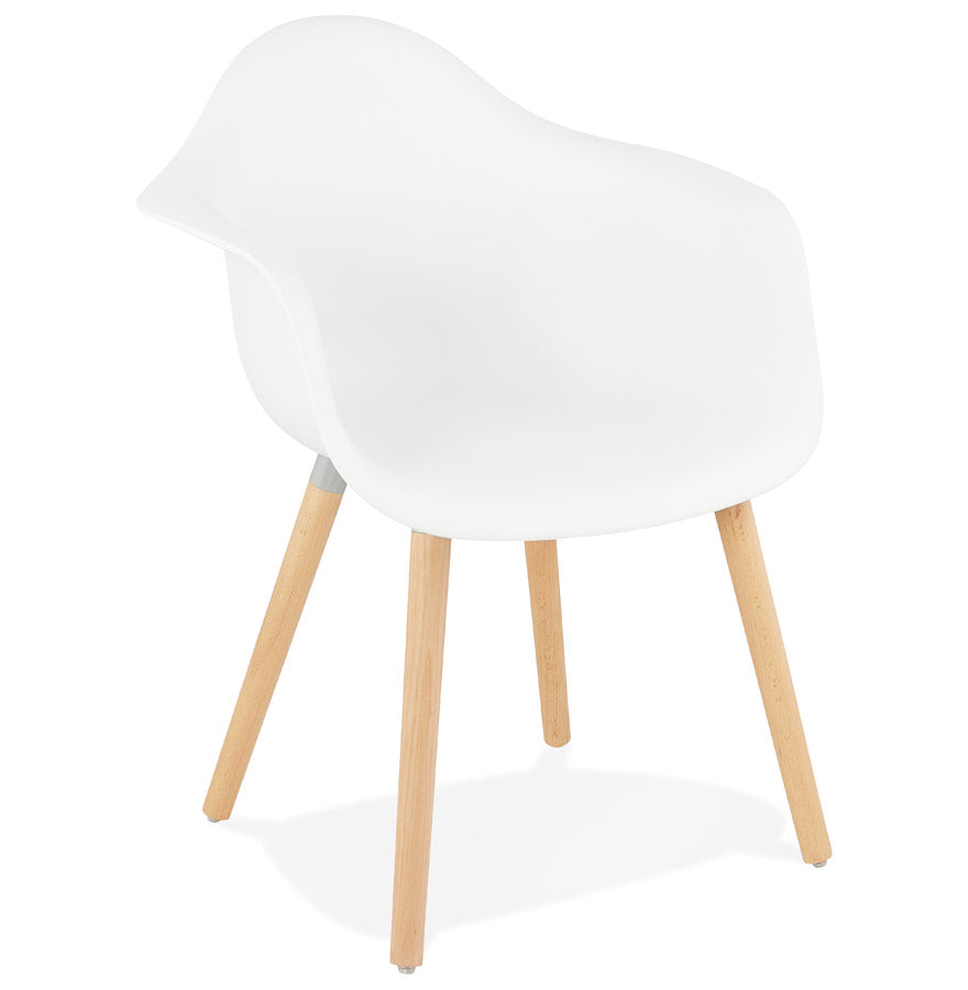 Cloud Armchair comes in black and white with a modern style and is available from roomshaped.co.uk