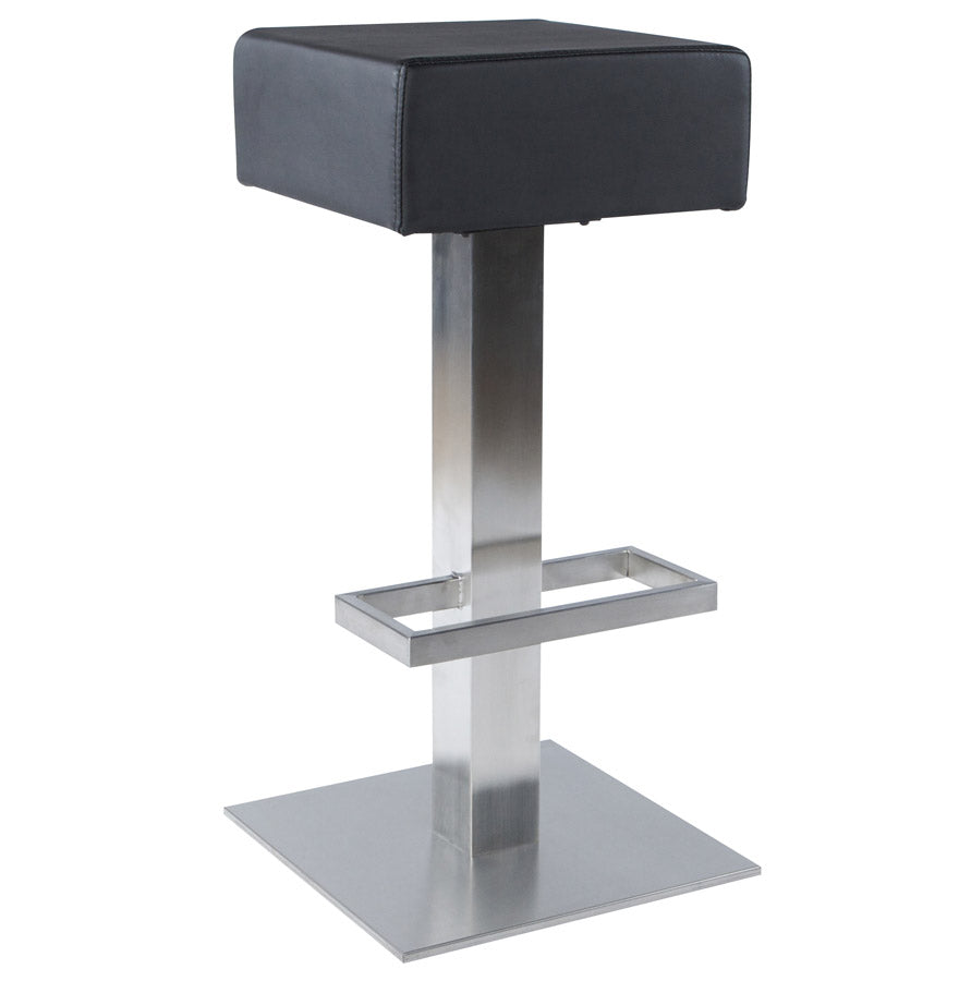 Noble Barstool comes in black and white with a modern style and is available from roomshaped.co.uk