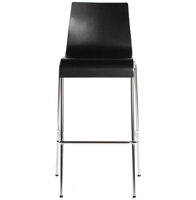 Cobe Barstool comes in black and brown and a natural finish and white with a modern style and is available from roomshaped.co.uk