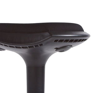 Ama Barstool comes in black and grey and red with a modern style and is available from roomshaped.co.uk