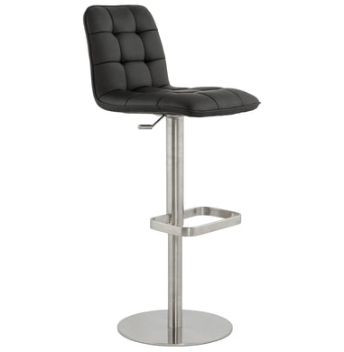 Salamanca Barstool comes in black with a modern style and is available from roomshaped.co.uk