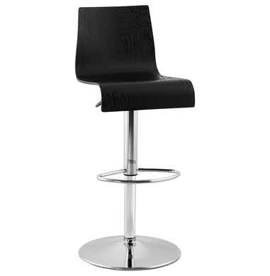 Madeira Barstool comes in black and a natural finish with a modern style and is available from roomshaped.co.uk