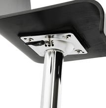 Load image into Gallery viewer, Santana Barstool comes in black and white with a modern style and is available from roomshaped.co.uk