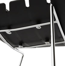 Load image into Gallery viewer, Reny Barstool comes in black and white with a modern style and is available from roomshaped.co.uk