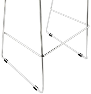 Reny Barstool comes in black and white with a modern style and is available from roomshaped.co.uk