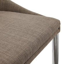 Load image into Gallery viewer, Talon Barstool comes in grey with a modern style and is available from roomshaped.co.uk