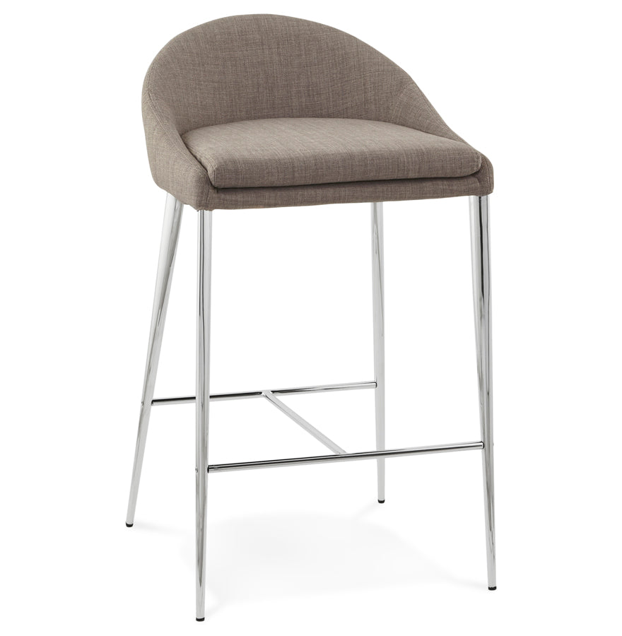 Talon Barstool comes in grey with a modern style and is available from roomshaped.co.uk