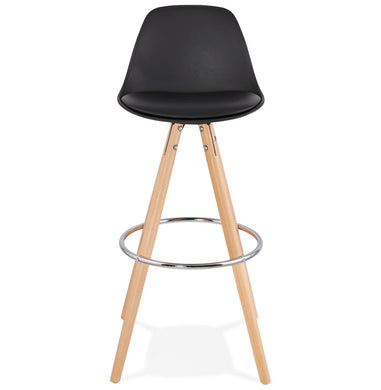 Anau Barstool comes in black and grey and white with a modern style and is available from roomshaped.co.uk