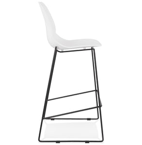 Ziggy Barstool comes in black and white with a modern style and is available from roomshaped.co.uk
