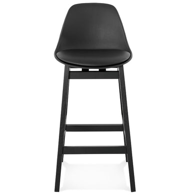 Turel Mini Barstool comes in black with a modern style and is available from roomshaped.co.uk
