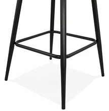 Load image into Gallery viewer, Klap Mini Barstool comes in black and grey with a modern style and is available from roomshaped.co.uk
