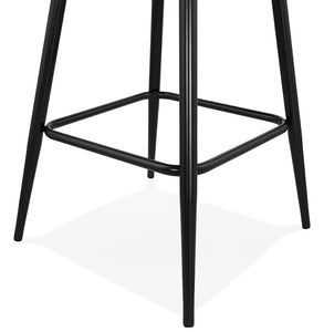 Klap Mini Barstool comes in black and grey with a modern style and is available from roomshaped.co.uk