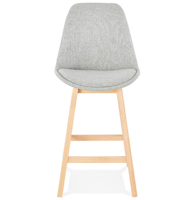 Qoop Mini Barstool has a modern style and is available from roomshaped.co.uk