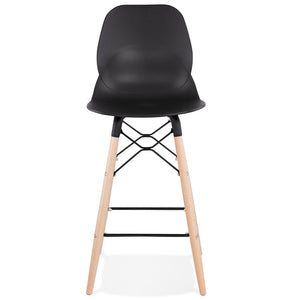 Marcel Mini Barstool comes in black and white with a modern style and is available from roomshaped.co.uk